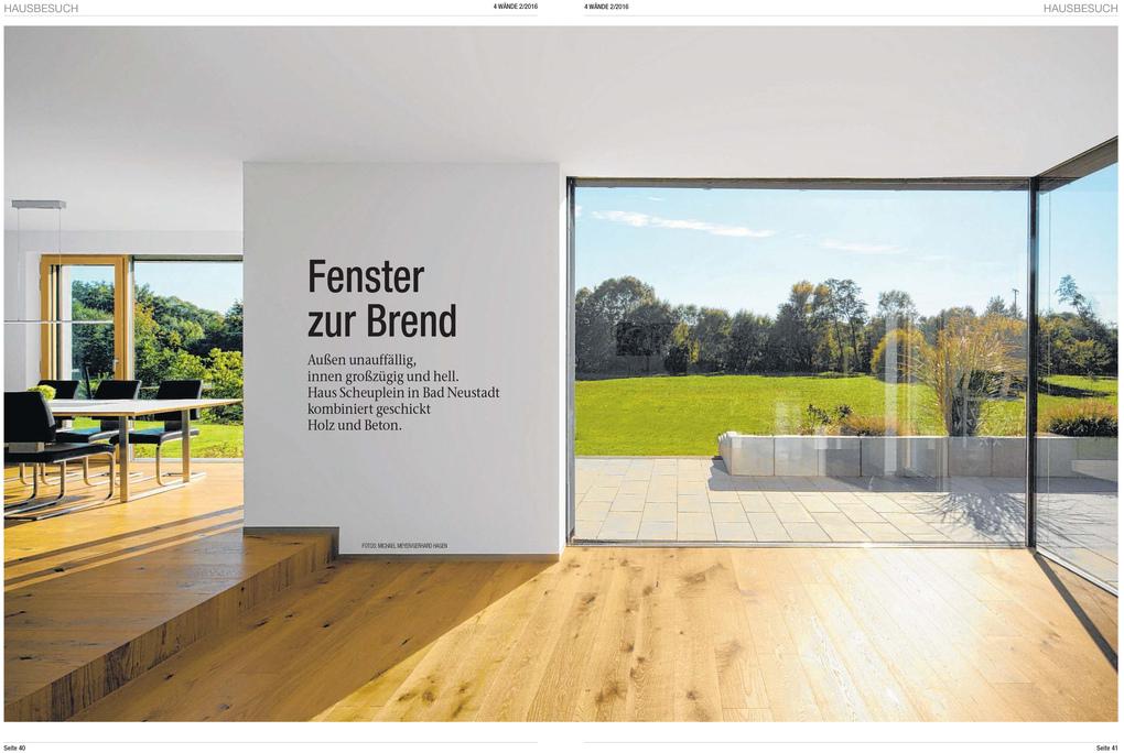 Architektur Evi Pechthold: MAIN POST - 4 Wände